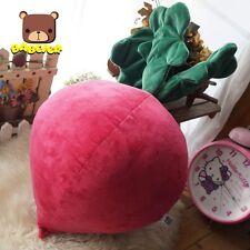 Super cute veggie cushions radish decorative bolsters pillows home decor