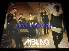 MBLAQ Vol. 1 BLAQ Style 3D Edition CD DVD Great Cond M Blaq Ultra-RARE OOP GLass