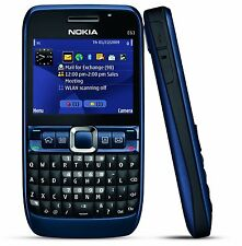 Nokia E63 Blue Mobile Phone Imported Qwality Without Wifi.