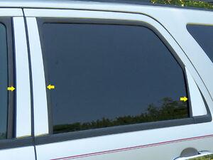 2008-2012 Ford Escape chrome pillar post trim stainless steel molding