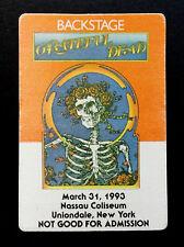 Grateful Dead Backstage Pass Bertha Mouse Kelley FD-26 Poster Art 3/31/1993 NY