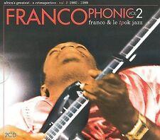 Franco - Francophonic, Vol. 2: 1980-1989(NEW CD  Oct-2009, 2 Discs, Sterns Arc)