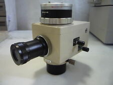 Olympus Pm-10Ads Photomicrographic Camera Adapter + Eye Piece -(Item # 1136/16)