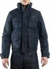 Calvin Klein giacca giubbotto giaccone Giubbino Ck Blu Jacket imbottito