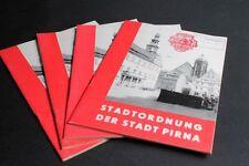 Info Cahier Livre Charte De La Ville Pirna Saxe Suisse Saxonne