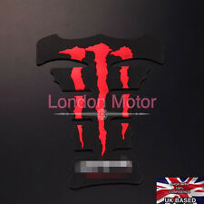 Red Claw Fuel Tank Pad Sticker Protector Motorcycle Honda Yamaha Suzuka A029-R