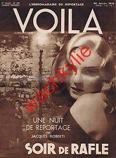 Voila n°358 du 28/01/1938 Prostitution Tabarin Opéra de Paris Magie