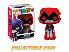 Funko Pop Red Raven Teen Titans Go 108 Vinyl Figure by Opp