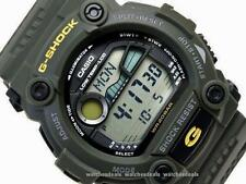 CASIO G-SHOCK, G7900 G-7900-3, MOON DATA, TIDE GRAPH, DARK ARMY MILITARY GREEN