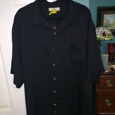 Extremely Rare Men's Tommy Bahama Short Sleeve Silk Camp Shirt With Golfing...