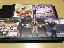 PINK 5-DISC: I'M NOT DEAD + MISSUNDAZTOOD + STUPID GIRLS + TROUBLE + FEEL GOOD..
