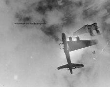 "Boeing B-17G Wee-Willie shot down by German ME 262 Jet 8""x 10"" WWII Photo #188"