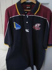 CANTERBURY QUEENSLAND REDS POLO SHIRT SIZE L