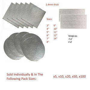 Cut Edge Boards Wedding Cake Decoration Cards Support 1.4Mm Silver Foil Covered