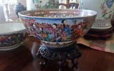 A Beautiful Large Chinese Export Superb  Bowl Circa.1750-1760