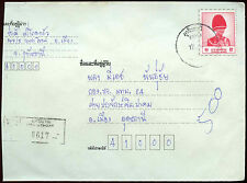 Thailand Registered Cover #C15307