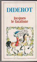 Denis Diderot  - Jacques Le Fataliste Et Son Maitre -  GF . 19/01