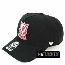 47 Brand - Liverpool FC Black MVP DT Curved Snapback