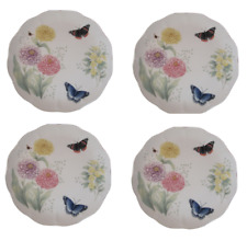 """Lenox Butterfly Meadow Red Admiral 10 7/8"""" Dinner Plate (set of 2)"""