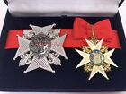 Badge and star of the Royal and Military Order of Saint Louis - France