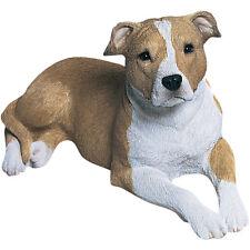 ♛ SANDICAST Dog Figurine Sculpture Pit Bull Terrier