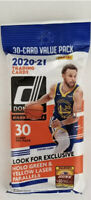 2020-21 Panini Donruss Basketball NBA Cello Fat Value Pack 30 Cards Brand New