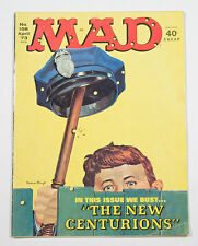 MAD MAGAZINE APRIL 1973 # 178 COP POLICEMAN NEW CENTURIONS ISSUE