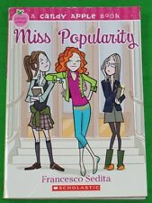 Candy Apple Book, Miss Popularity by Francesco Sedit Scholastic 2007