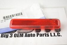 Chevrolet GMC Cadillac LH Drivers Side Rear Door Inside Red Reflector OEM new