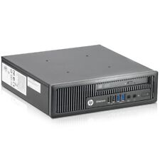 HP EliteDesk 800 G1 Intel 4. Gen 3GHz 8GB 500GB DVD-RW Win 7 Pro USFF