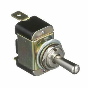 Attwood 14255-3 On/Off/On Toggle Switch with Metal Handle