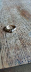 Magic glo vintage marquise diamond ring 14 kt Size 7