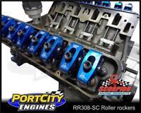 "Roller rockers for Holden 253 308 5.0L V8 1.65 ratio, 7/16"" stud mount Scorpion"