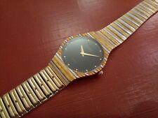 Raymond Weil Herrenuhr 18 K vergoldet Zweizeigeruhr Swiss made watch Quarz Uhr