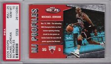 MICHAEL JORDAN 2005-06 Hoops MJ Profile #MJ-25 PSA 10 Gem Mint Pop 1 1/1