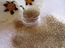 "NAIL Art ""Champagne"" GOLDY Sparkle Glitter Powder Polvere MIX POT Tip Decorazione"