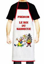 Tablier de cuisine homme personnalisé prénom humoristique cadeau réf 04