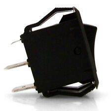 Illuminated Rocker Switch 3 With Led -Yellow 16a/12vdc Johnny Law Motors muscle
