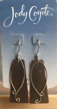 Jody Coyote Earrings JC0667 Ember Collection QC128 sterling silver ear wire
