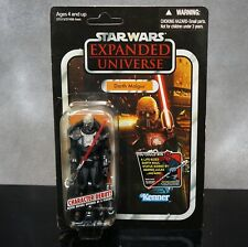 Star Wars Vintage Collection Expanded Universe Darth Malgus Unpunched Card