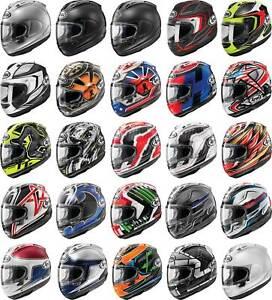 Arai Corsair-X Helmet - Full Face Motorcyle Street Bike Riding Race DOT Snell