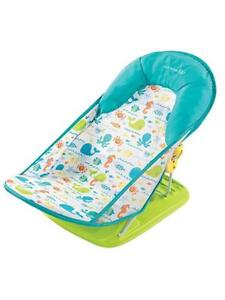 NEW Summer Infant Deluxe Baby Bather folding sling seat reclining
