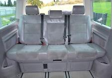 VW T5 Multivan - Sitzbank Leder Alcantara grau