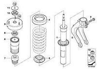 Guide Support Set Strut Top Suspension Genuine BMW X5 E70 X6 E71 31336776389