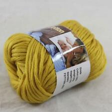 Sale 1BallX50g Chunky Cotton Hand Knitting Smooth Special Thick Yarn Gold  48