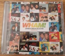 WHAM! - JAPANESE SINGLES COLLECTION GREATEST HITS - CD & DVD (GEORGE MICHAEL)