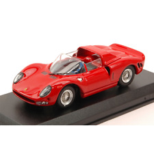 FERRARI 330 P 2 RED 1:43 Best Model Auto Stradali Die Cast Modellino