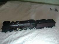 locomotive vapeur 231C60 marron de chez jouef pour pièces, trains ho, kafr78
