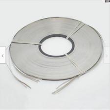 0.1 x 8mm 1kg Nickel Plated Steel Strap Strip Sheets for battery spot welder nx