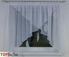 Amazing Voile Net Curtains with Leaves Tape Top High Quality Voile & Net